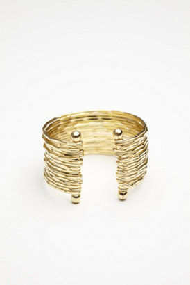 Free People Hammered Stacked Multi Cuff