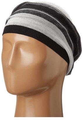 Calvin Klein Marled Slouchy Beret (Black) - Hats