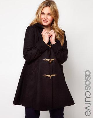 Asos Exclusive Swing Duffle Coat