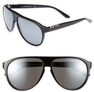 Burberry 59mm Keyhole Sunglasses
