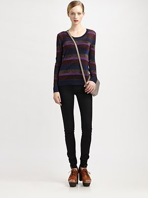 Marc by Marc Jacobs Vanya Lurex Sweater