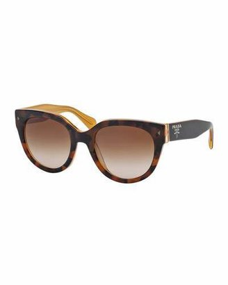 Prada Heritage Cat-Eye Sunglasses