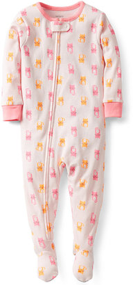Carter's Baby Girls' One-Piece Coverall Pajamas
