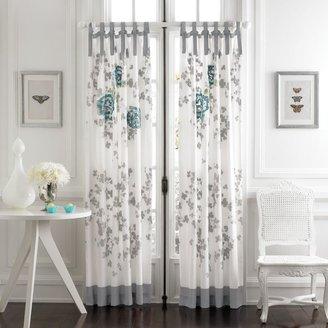 Kas Alaina 84-Inch Window Curtain Panel Pair