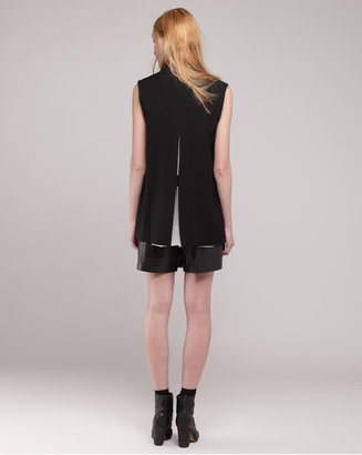 Alexander Wang double front split back vest