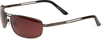 Eyelevel Grand Prix 2 Rectangle Men's Sunglasses Shiny Gun Metal One Size