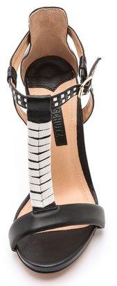 Schutz Chloe T Strap Sandals