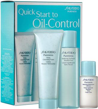 Shiseido Pureness Quick Start To Oil-Control Kit