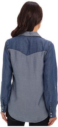 C&C California Two-Tone Chambray Shirt