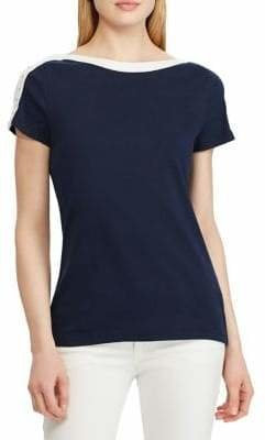 Chaps Boatneck Cotton Top