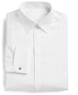Armani Collezioni Slim-Fit French Cuff Tuxedo Shirt