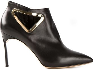 Casadei 'Triangle' ankle boots