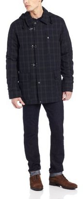 Nautica Men's Blackwatch Toggle Coat