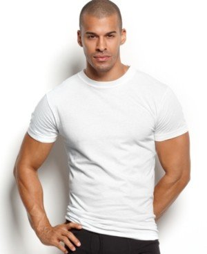 2xist Men's Essential 3 Pack Crew-Neck T-Shirt