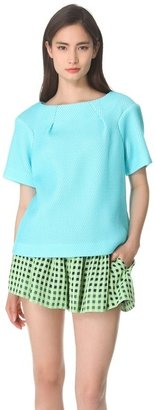 Thakoon Short Sleeve Top