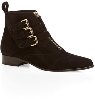 Tabitha Simmons Black Early Bootie
