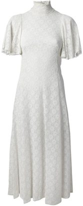 Biba Vintage floral lace wedding dress