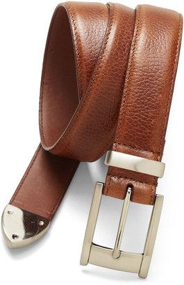 Pga Tour PGA TOUR Top Grain Leather Belt