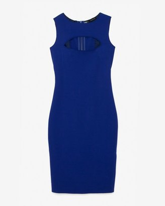 DSquared Dsquared2 Exclusive Sleeveless Cutout Dress: Cobalt