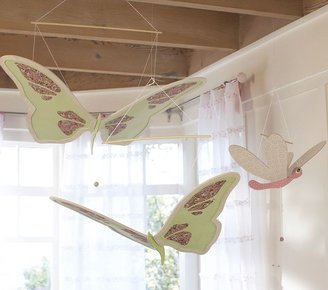 Pottery Barn Kids Dragonfly and Butterfly Moving Mobiles