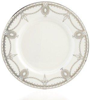 Marchesa by Lenox Dinnerware, Empire Pearl Salad Plate