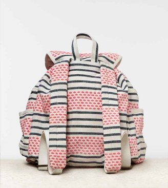 American Eagle AEO Striped Backpack