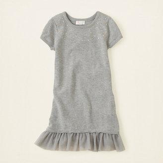 Children's Place Studded sweater dress