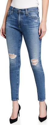 Farrah High-Rise Skinny Ankle Jeans