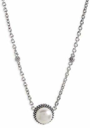 Lagos 'Luna' Pearl Pendant Necklace