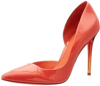 Kenneth Cole New York Women's Willow Red D'Orsay Pump