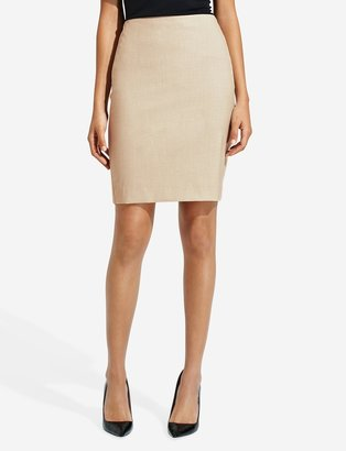 The Limited Heathered Stretch Pencil Skirt