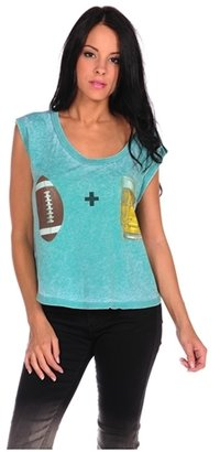 Local Celebrity Football + Beer Muscle Tee