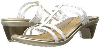 Naot Footwear Loop (Black Raven Leather) Women's Sandals