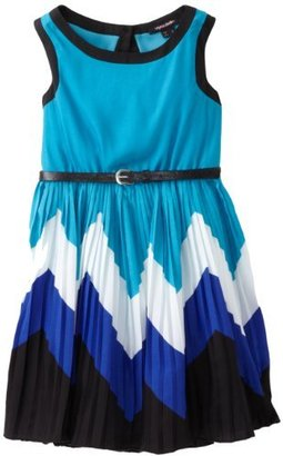 My Michelle Girls 7-16 Sleeveless Belted Dress