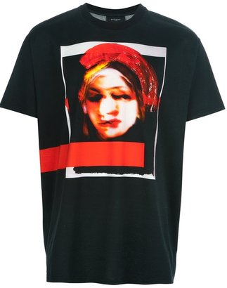Givenchy portrait print t-shirt