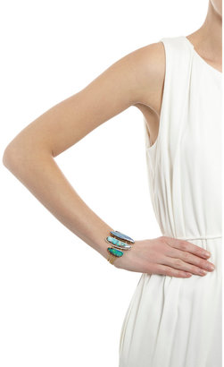 Irene Neuwirth Diamond Collection Diamond & Boulder Opal Bracelet