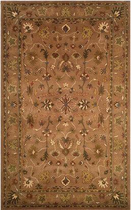 Liora Manne Area Rug, Petra 9062/19 Oushak Brown 8' x 10'