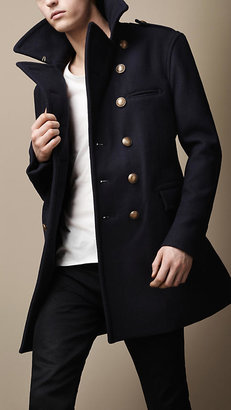 Burberry Naval Wool Coat