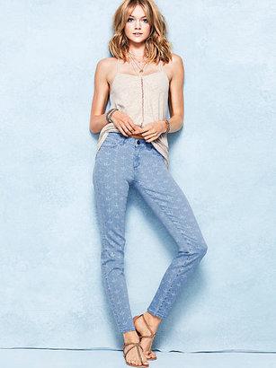 Victoria's Secret Siren Mid-rise Ankle Jean