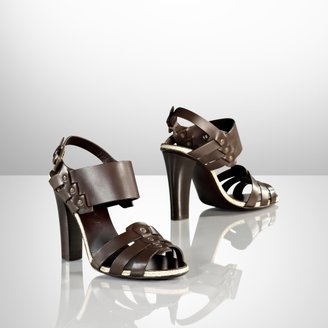 Ralph Lauren Laveda Calfskin Sandal