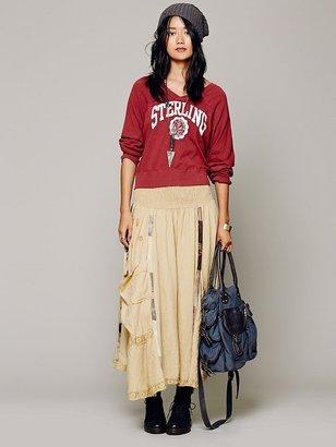 EWA i Walla Linen Patchwork Skirt