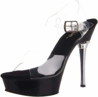 Pleaser USA Women's Allure-608/C/B Platform Sandal
