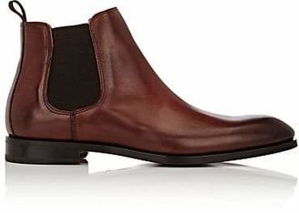 Barneys New York Men's Chelsea Boots - Beige, Tan