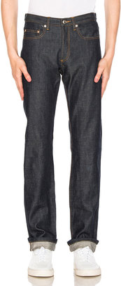 A.P.C. Petit Standard Jean in Indigo | FWRD