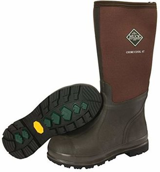 Muck Boot Muck Chore Cool Warm Weather Tall Steel Toe Men's Rubber Work Boots