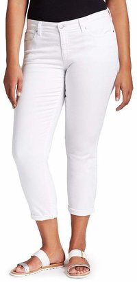 Eileen Fisher Plus Slim Ankle Jeans