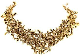 Tom Binns 'Punk Chic' safety pins necklace