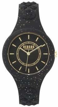 Versace Fire Island Silicone Watch