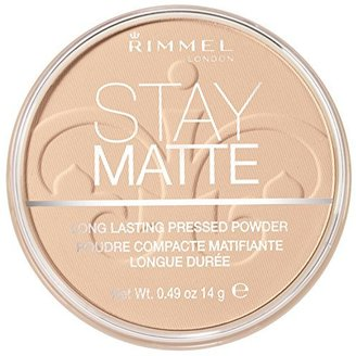Rimmel Stay Matte Pressed Powder, Creamy Natural, 0.49 Ounce $5.49 thestylecure.com
