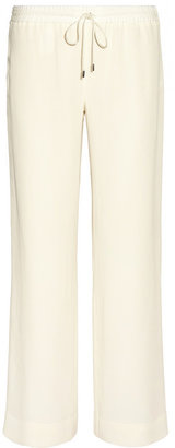 The Row Nading crepe-jersey wide-leg pants